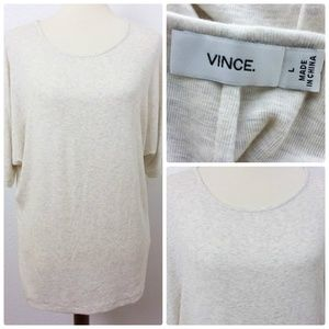 Vince Tops - NWOT VINCE Soft Cozy Tunic Top Dolman Sleeves